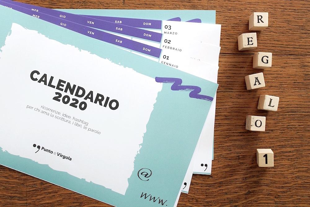 Calendario 2020 da scaricare | Punto e Virgola